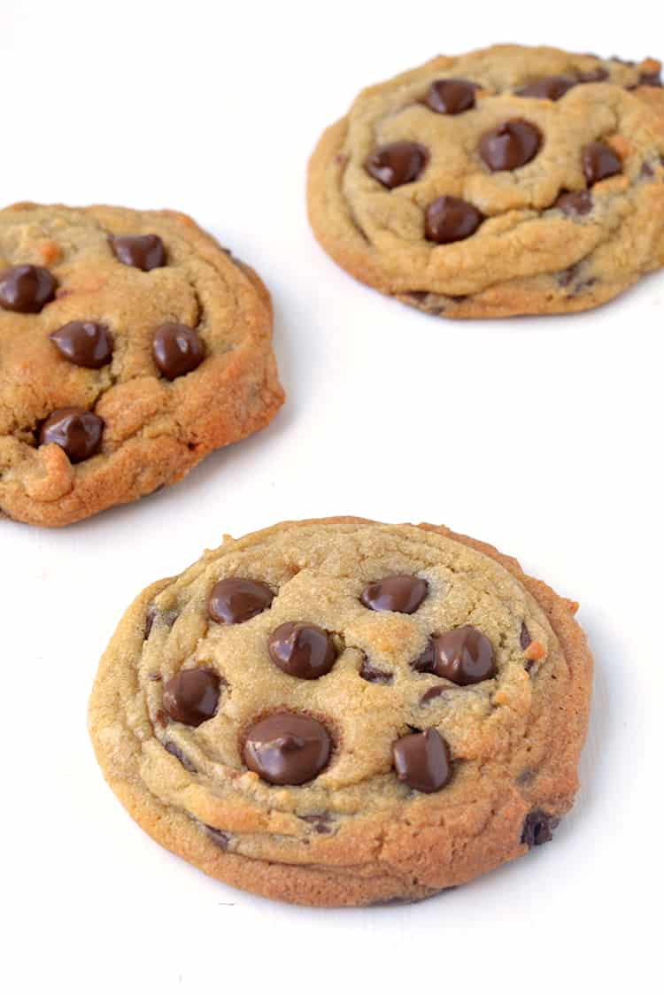 Classic soft and chewy chocolate chip cookies