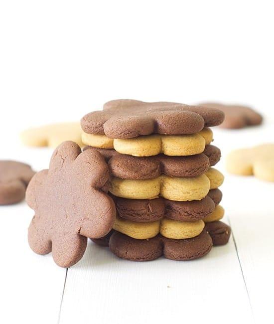 Gingerbread Cookies Two Ways