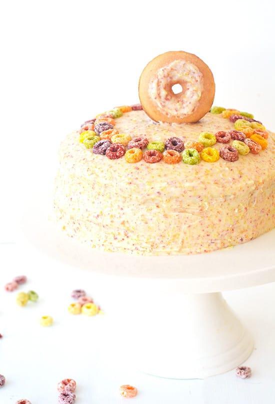 Fruit Loop Layer Cake