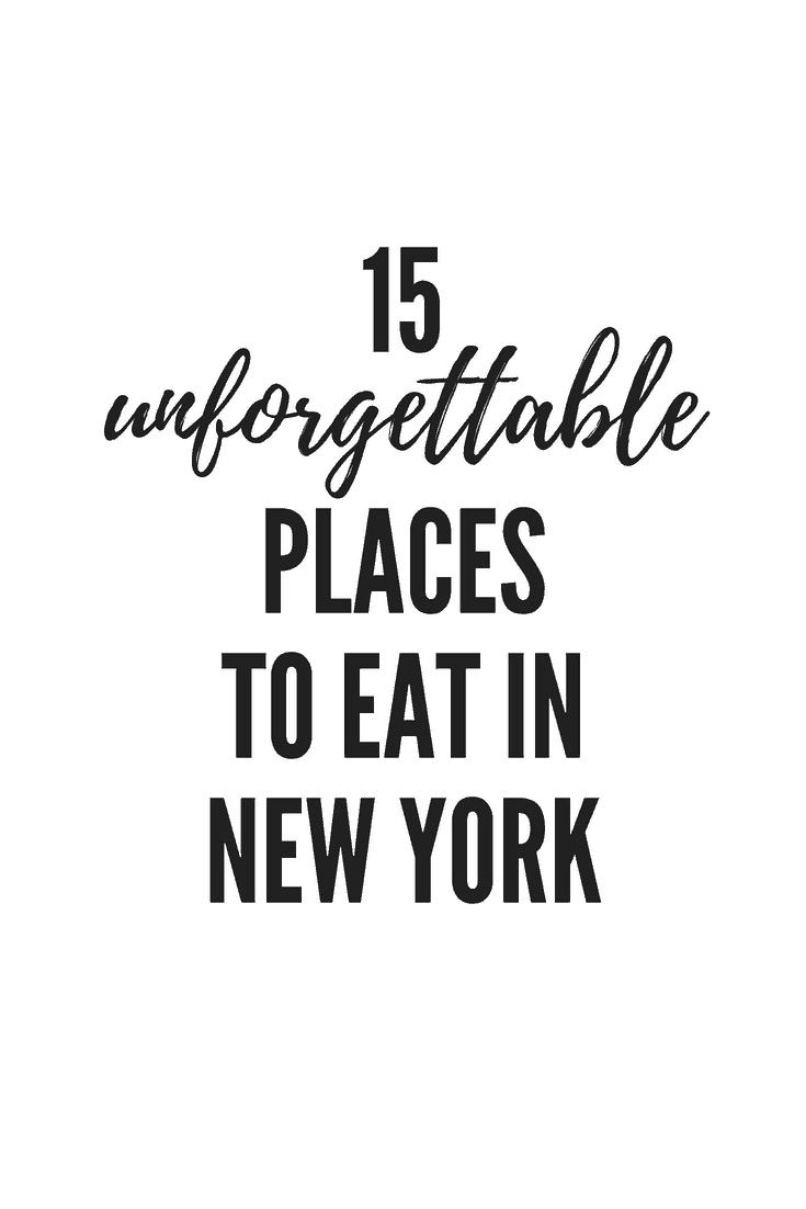 America's Best Eats: New York City