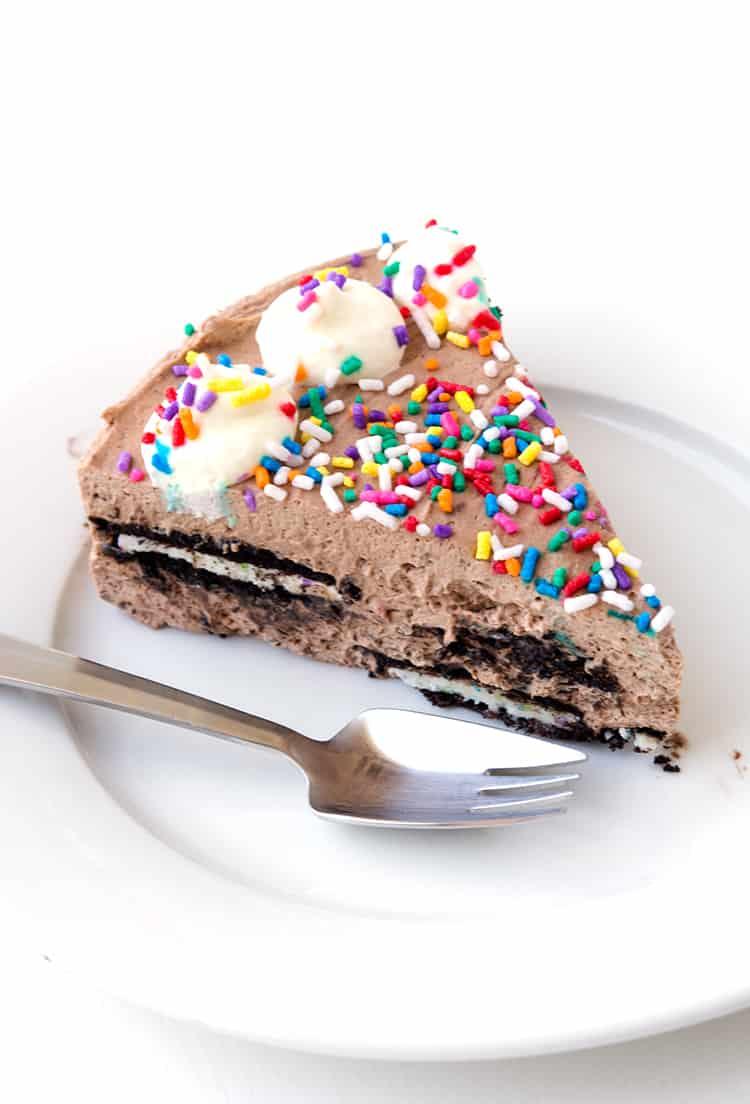 Birthday Cake Oreo Icebox Cake | Sweetest Menu