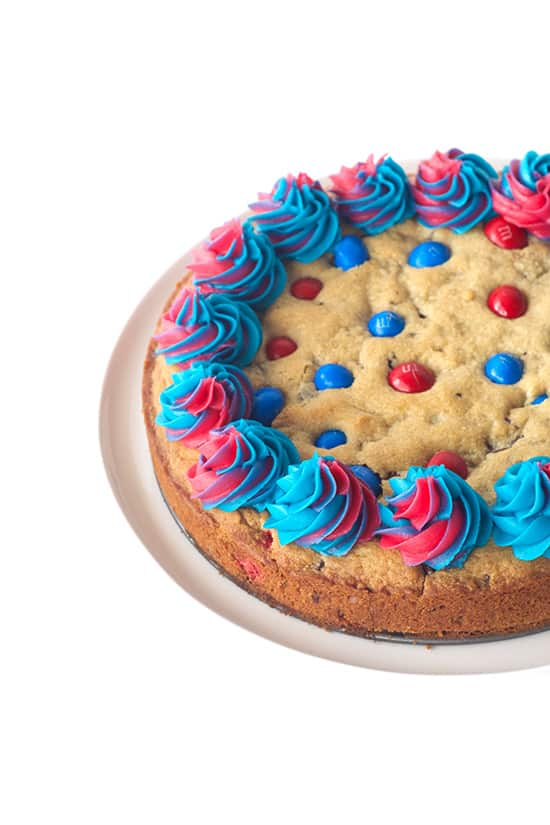 Fourth of July Cookie Cake