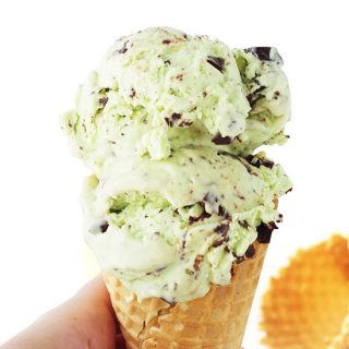 Mint Chocolate Chip Ice Cream