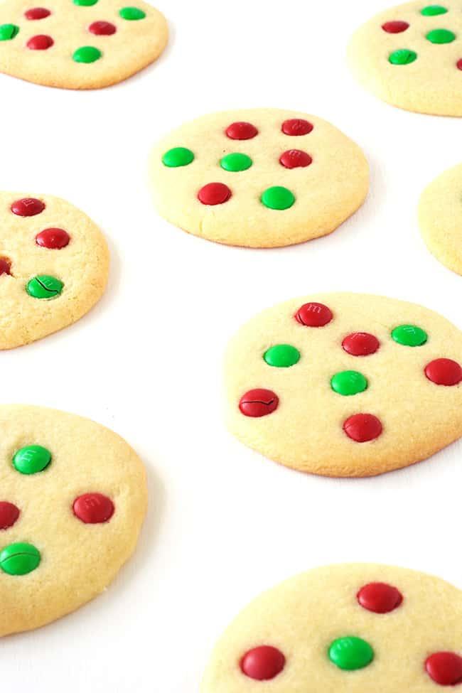 M M Christmas Sugar Cookies