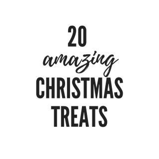 20 Easy Christmas Treats