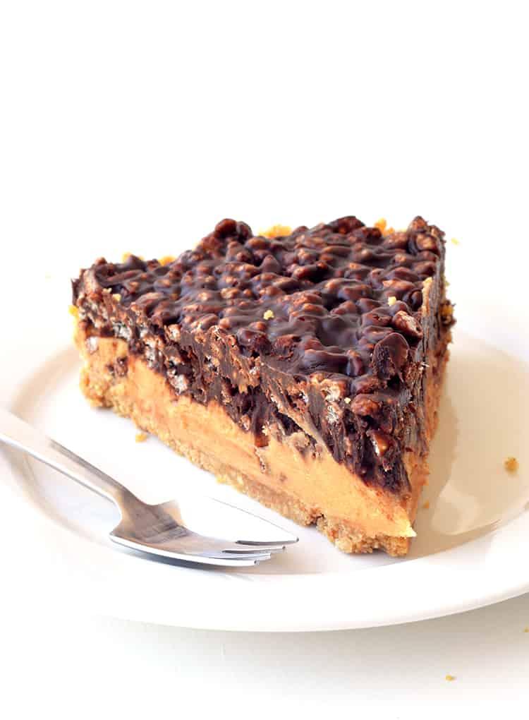 Peanut Butter Crunch Pie