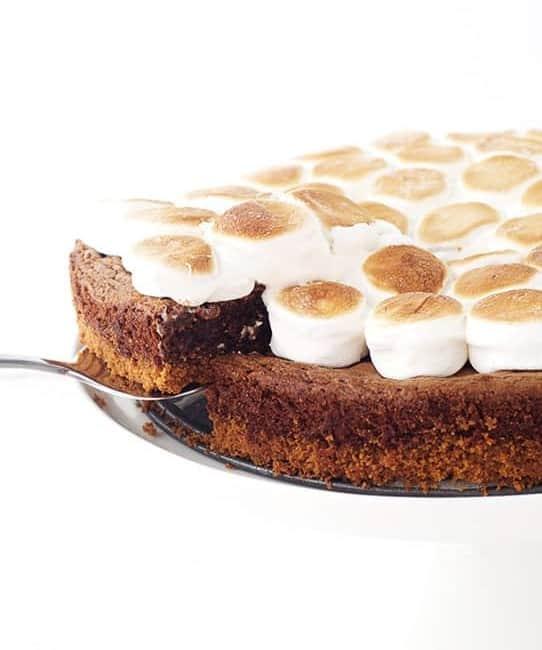 Smores Brownie Pie | Sweetest Menu
