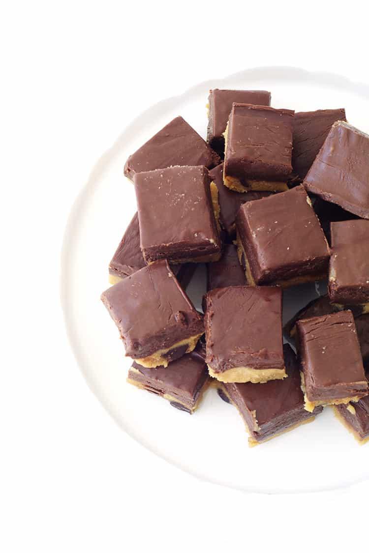 Cookie Dough Chocolate Fudge