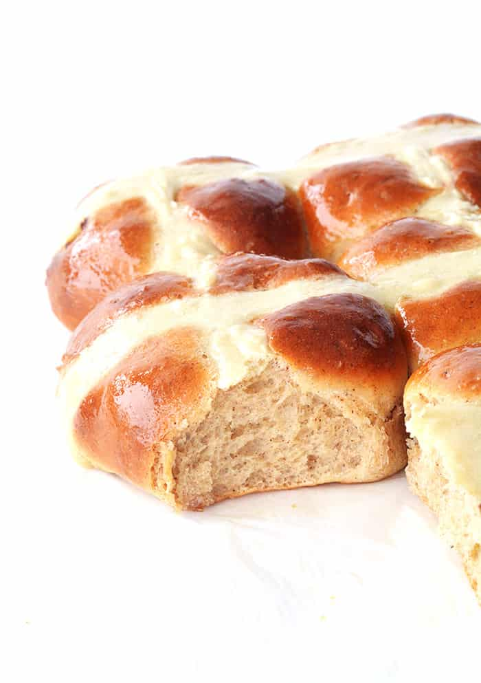 Homemade Hot Cross Buns
