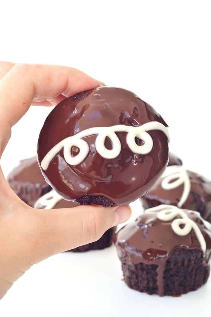 Ding Dong Cupcakes
