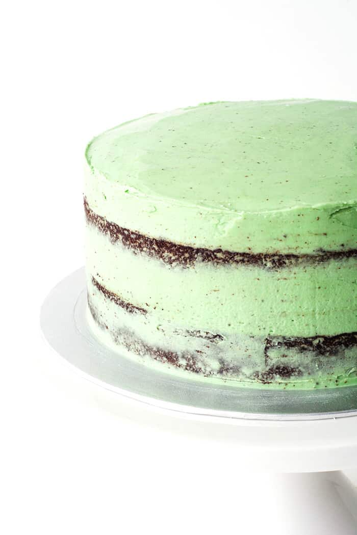 Mint Chocolate Layer Cake
