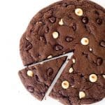 Giant Triple Chocolate Cookie