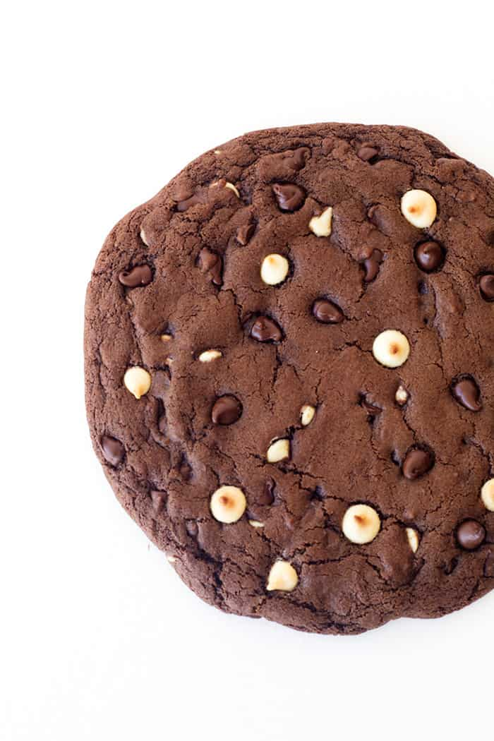 One Giant Triple Chocolate Cookie Video Sweetest Menu