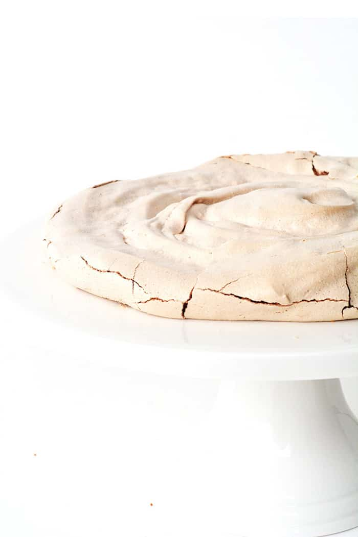 Smores Meringue Layer Cake