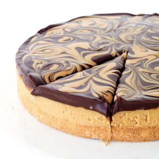 Chocolate Peanut Butter Tagalong Pie