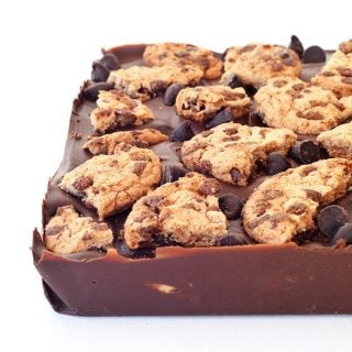 Cookie Dough Stuffed Chocolate Bar
