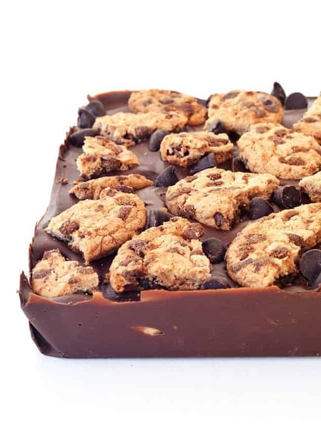 Cookie Dough Stuffed Chocolate Bar