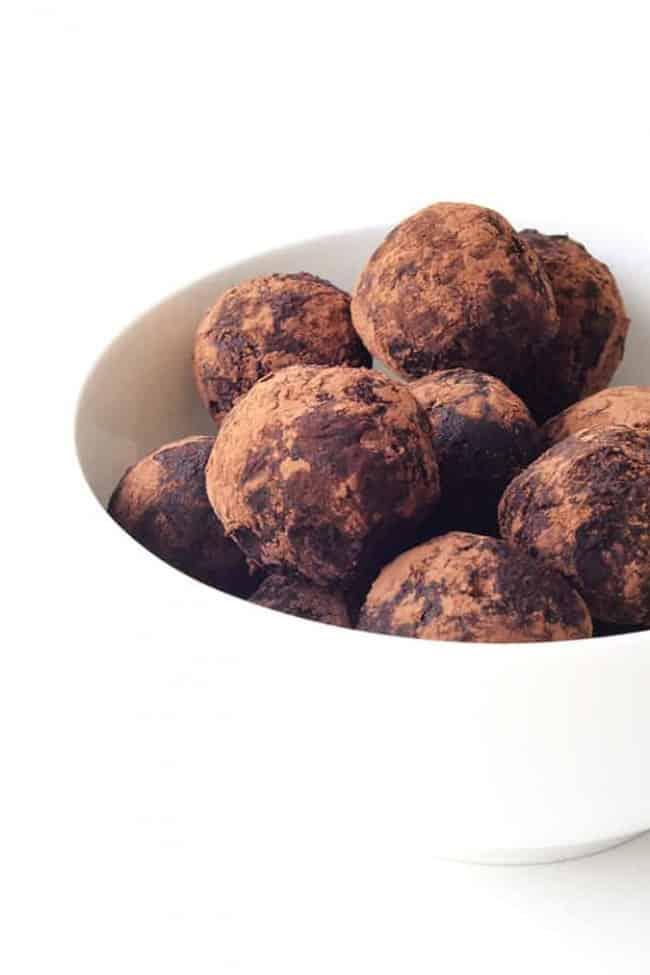 Chocolate Peanut Butter Pretzel Truffles