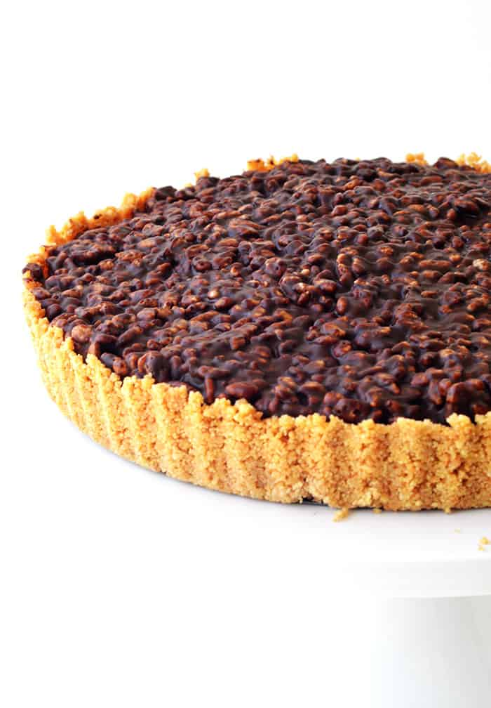 Peanut Butter Chocolate Crunch Pie