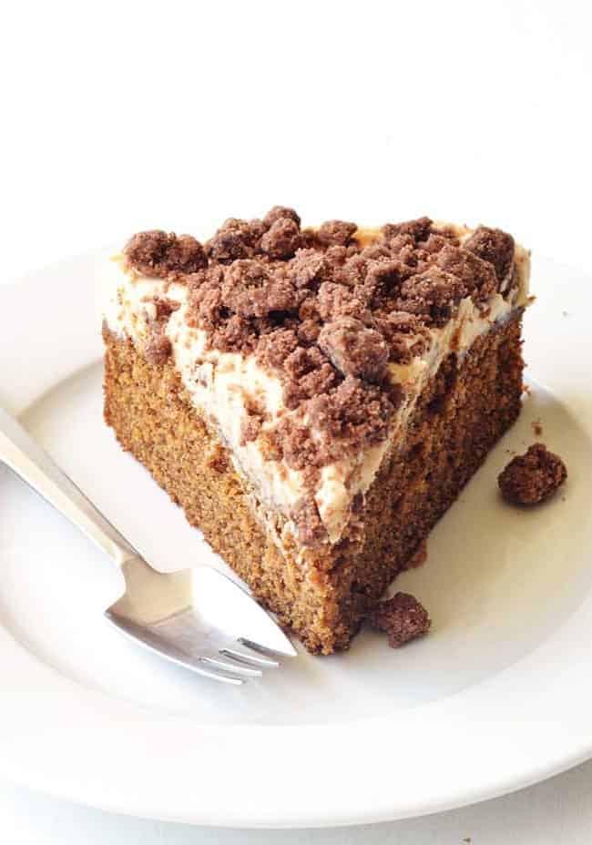 Gingerbread Cake | via sweetestmenu.com