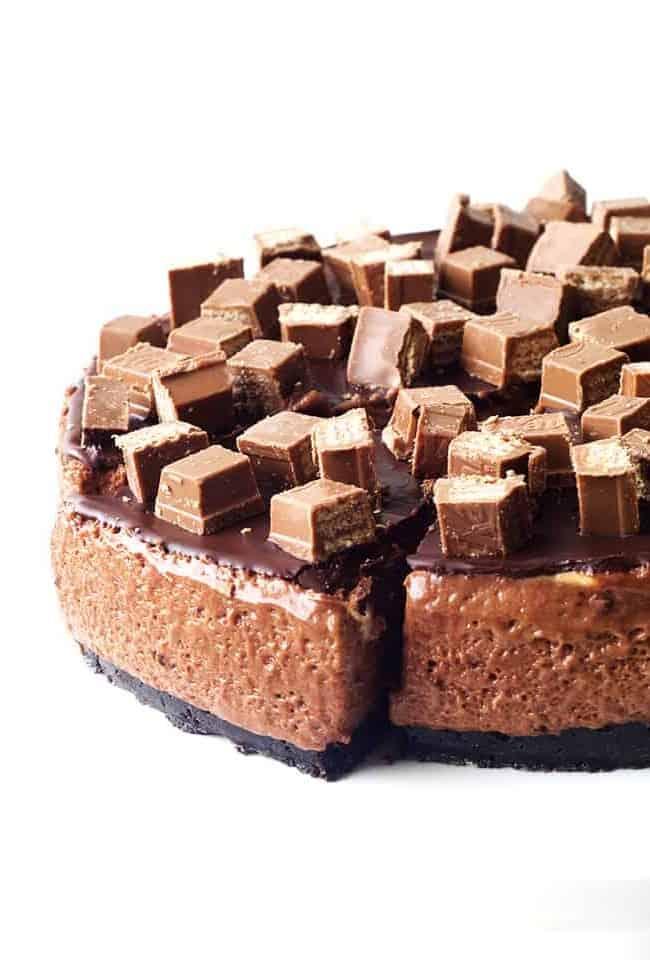 Chocolate Marshmallow Mousse Cake