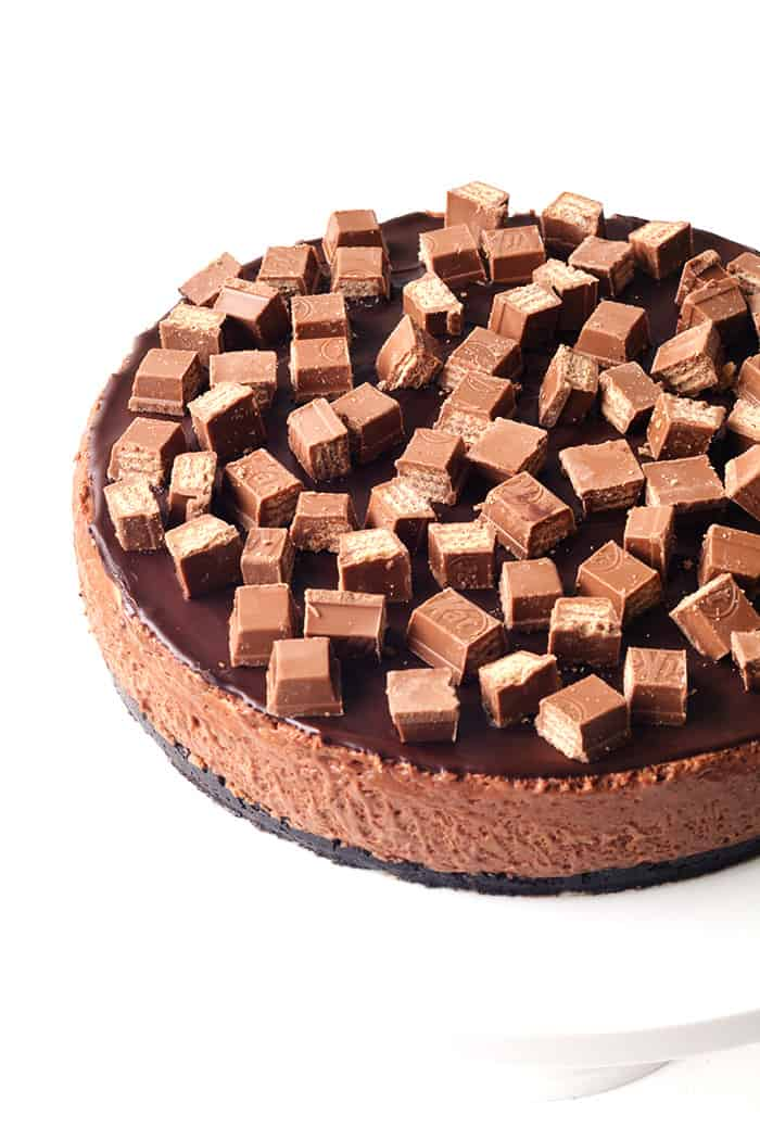 Chocolate Marshmallow Mousse Cake
