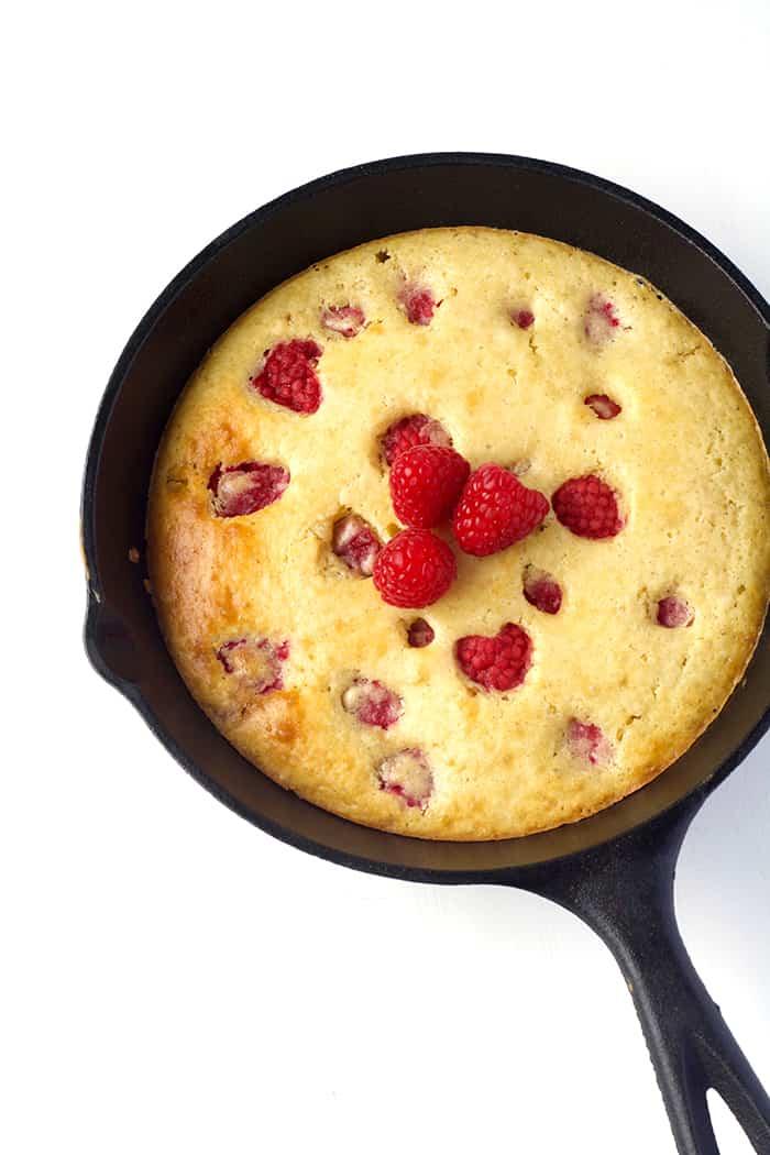 Raspberry Skillet Pancake