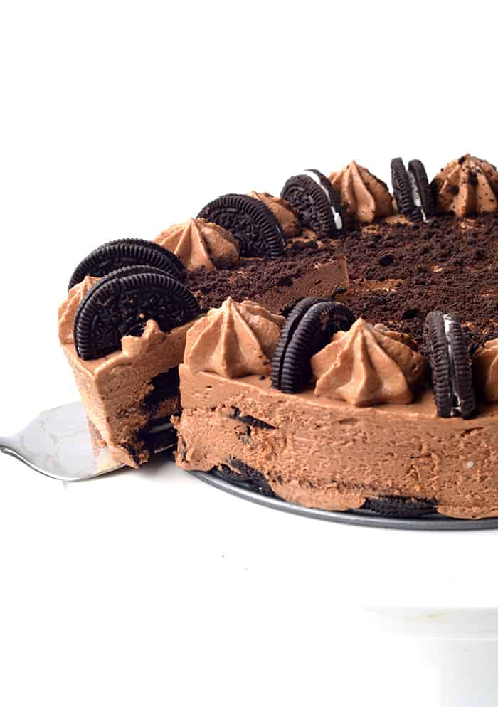 Oreo Chocolate Cheesecake Icebox Cake