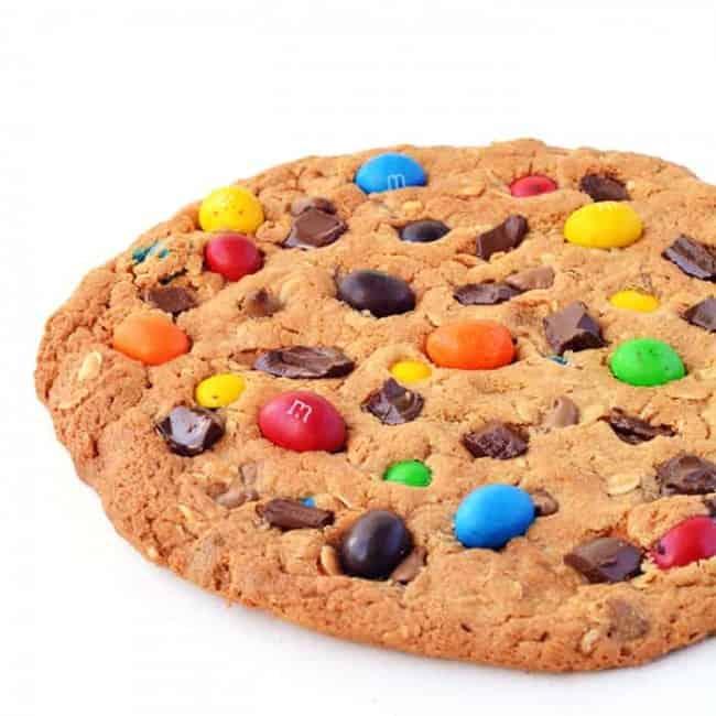 Giant Monster Cookie | via sweetestmenu.com