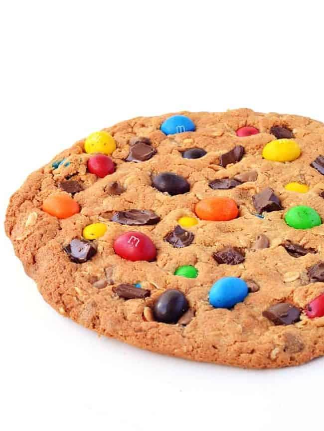 Giant Monster Cookie   via sweetestmenu.com