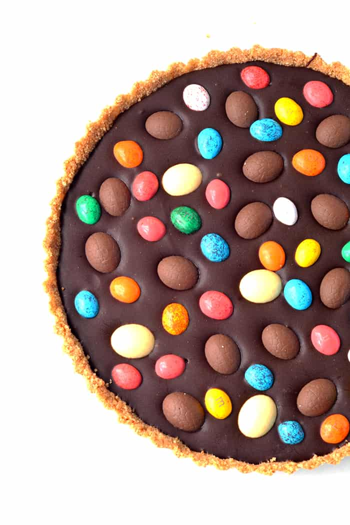 Easter Egg Chocolate Tart