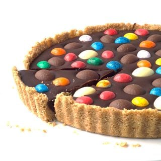 Easter Egg Chocolate Ganache Tart