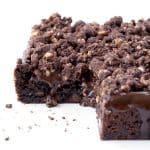 Hazelnut Chocolate Slice   via sweetestmenu.com