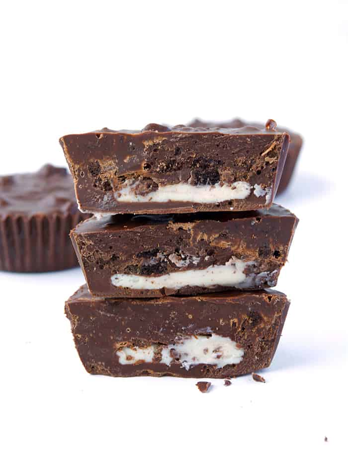 Oreo Chocolate Cups from sweetestmenu.com