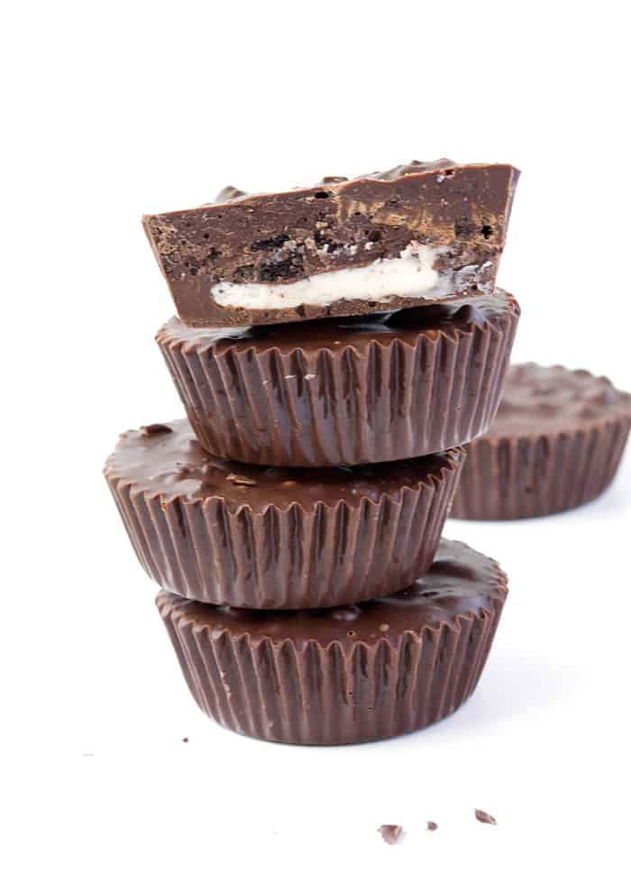 Oreo Chocolate Cups