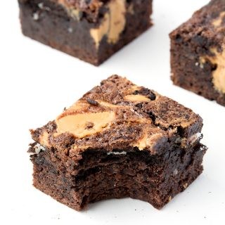 Chunky Peanut Butter Oreo Brownies