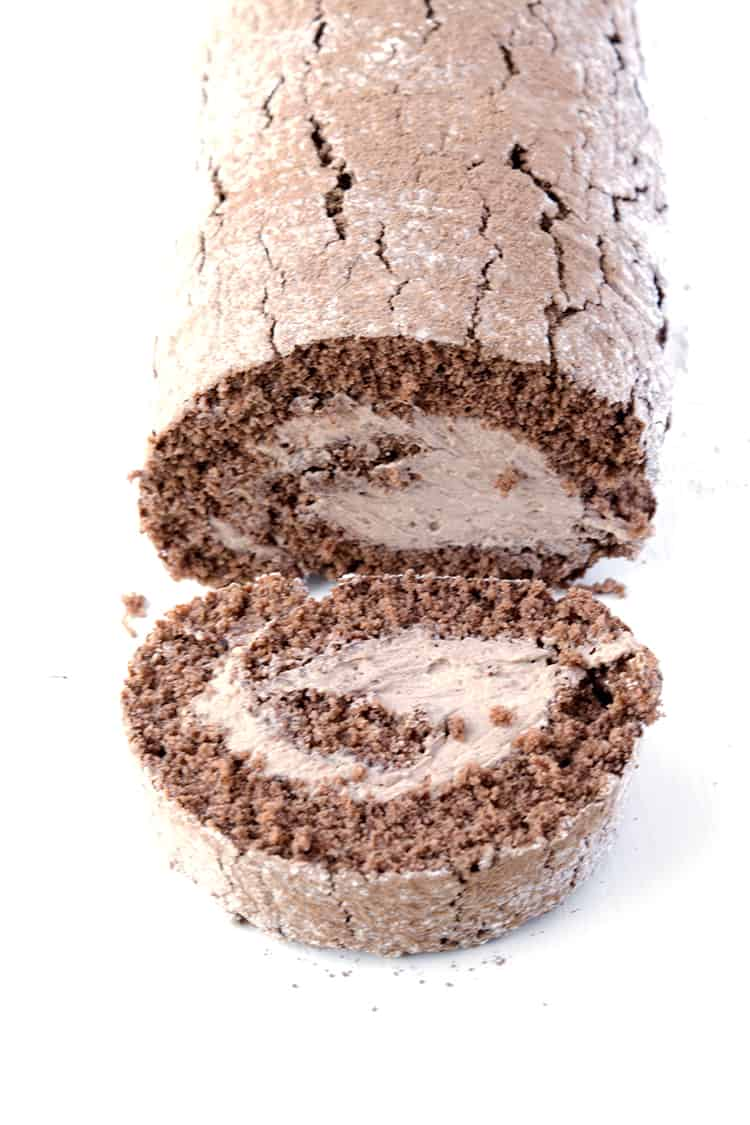 Chocolate cake roll