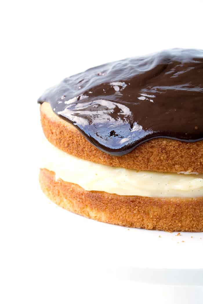 Easy Boston Cream Pie