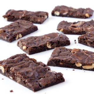 Rocky Road Brownie Bark