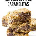 Nutella stuffed caramlelitas