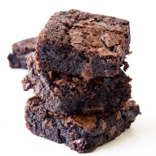 Easy Fudgy Gluten Free Brownies