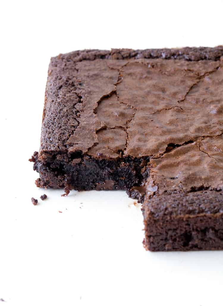 Gluten Free Chocolate Brownie | Sweetest Menu