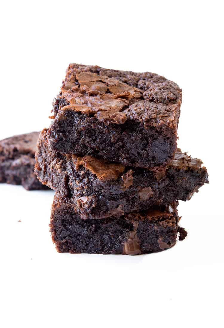 Fudgy Gluten Free Chocolate Brownies | Sweetest Menu