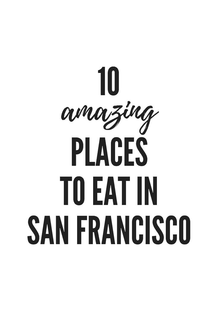 America's Best Eats: San Francisco