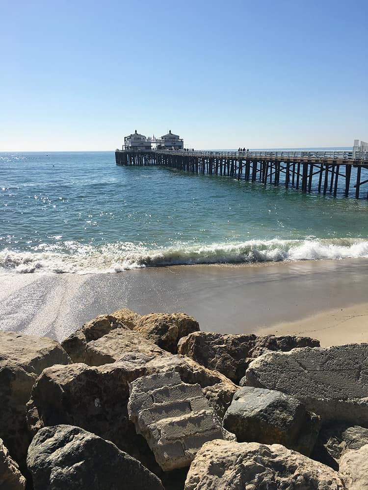 Malibu Beach in Los Angeles