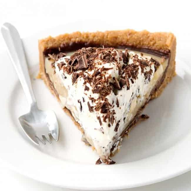 No Bake Banoffee Pie | Sweetest Menu