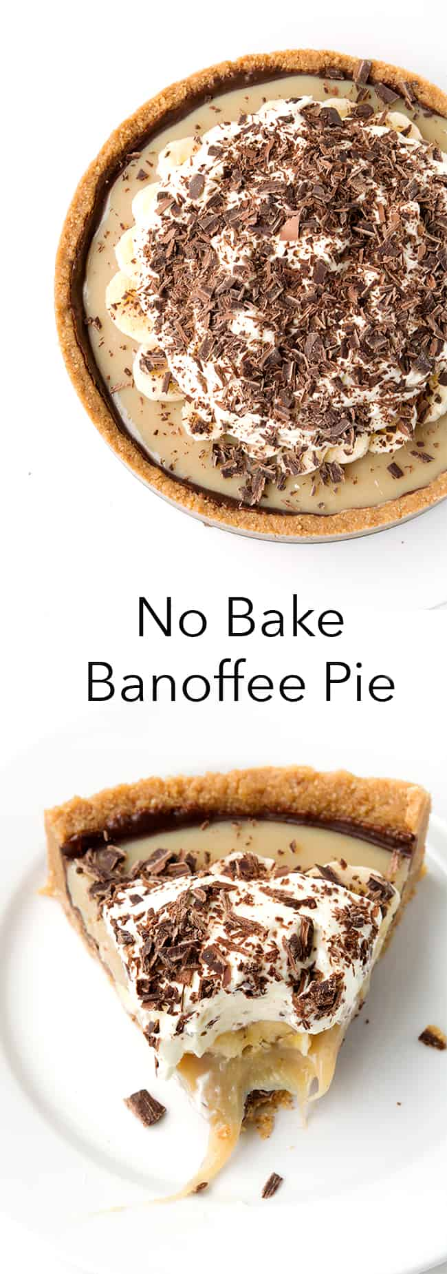 No Bake Banoffee Pie | Sweetest Menu
