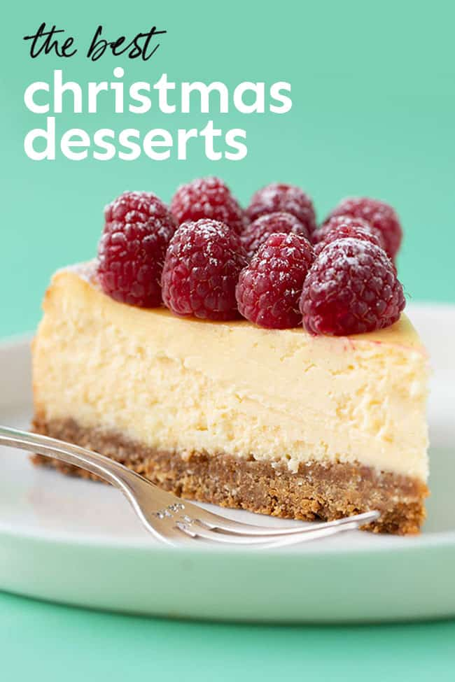 12 easy Christmas desserts