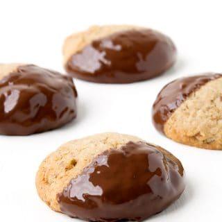 Easy Gluten Free Pecan Almond Cookies