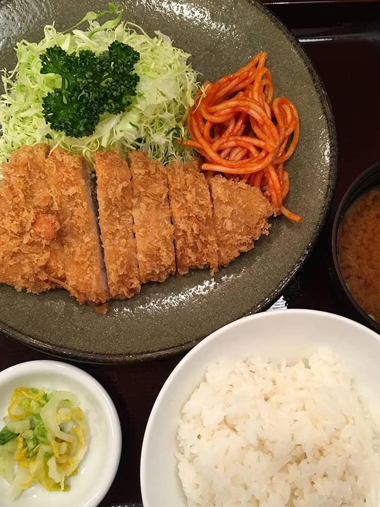 Pork Tonkatsu in Tokyo